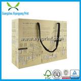 Saco de compra de papel feito sob encomenda do baixo preço com alta qualidade
