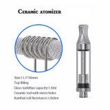 Sigaretta elettronica di ceramica di Cbd del serbatoio di vetro della bobina del filetto dell'atomizzatore 510