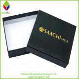 Chemise d'extrémité de pente bourrant la boîte-cadeau de papier rigide pour des faveurs de mariage