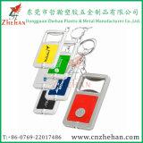 De Flesopener van de Creditcard van het Metaal van het roestvrij staal van de douane Voor Bier