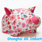 Jouet mignon de porc de Microbeads de jouet coloré de porc