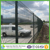Clôture soudée bon marché de jardin enduite par PVC de treillis métallique d'assurance qualité