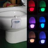 لمع قمّة 2016 جديد آمنة موثوقة [لد] مرحاض ضوء مصباح 8 لون محسّ أضواء