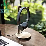 Aluminiumlegierung-Gold überzogener Kopfhörer-Standplatz des Befestigungsteil-Produktes