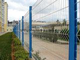 철망사 담 또는 도로 보호 담 또는 직류 전기를 통한 PVC 입히는 중국 Qingdao 공장