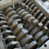 Gummireifen-Gummireifen-Reißwolf-Chipper Brecheranlage-Doppelt-Antriebswelle