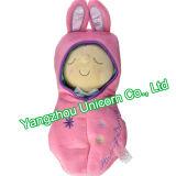 Bebê macio do amendoim do vagem do Snuggle do animal enchido - brinquedo do luxuoso da boneca
