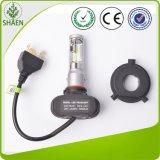 Buena linterna del coche LED del bulbo de la disipación de calor 4000lm H4
