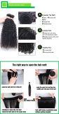 Massa umana non trattata dei capelli umani di alta qualità 8A Remy 100%