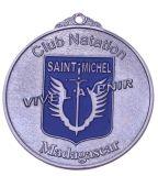 Medaglia della pittura di colore placcata bronzo
