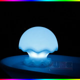 Luz de Powerght de la batería del liendre del humor del escritorio LED de las medusas de la novedad