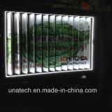 Освещение пятна рекламируя напольную афишу алюминия Trivision
