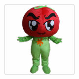 Do traje principal Shaped da mascote do tomate traje vegetal da mascote