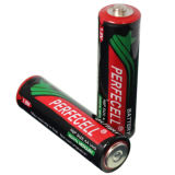 Батарея размера 1.5V поставкы супер сверхмощная R6p /Um-3 /AA сухая