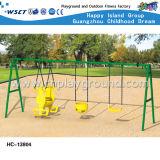 Дети напольное Playsets спортивной площадки качания и скольжения задворк (HC-13806)