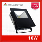 10W LED Flood Light mit PIR Sensor CER-UL