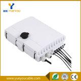 Rectángulo óptico impermeable del divisor de fibra IP65 con el divisor del PLC 1*8