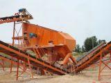 Silikon-Sand, der Pflanze bilden und Sand, der Maschinen herstellt