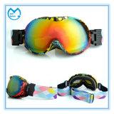 Lunettes sportives polarisées de ski de sports avec les lentilles interchangeables