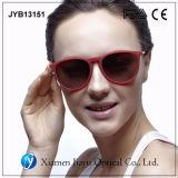 Óculos de sol aprovados polarizados projeto personalizados do CE do espelho da forma
