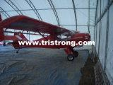 격납고, 묶인 프레임 항공기 천막, 편평한 주차 (TSU-4530/TSU-4536)