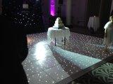 Diodo emissor de luz 2017 de Hotest Dance Floor no efeito da luz com estrelas de cintilação