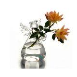 손에 의하여 불어지는 투명한 꽃 유리제 화병 또는 결정 화병