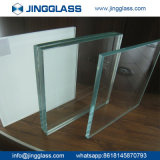 Preço Tempered liso do vidro da porta de vidro laminado do indicador do costume 5mm-22mm PVB