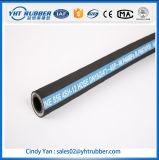 Hochtemperaturschlauch des druck-Stahldraht flexibler gewundener LÄRM en-856 Gummi-4sh
