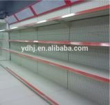 Perfoated Metal Supermarket Shelf con Light Box