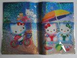 Couverture de livre de Slef-Adhésif Kitty au modèle de plage