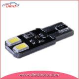 T10 cuña 194, W5w, bulbo auto de la luz T10 LED de T10 4SMD 5730