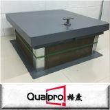 Porta de painel de aço galvanizada forte AP7210 do acesso do OEM