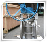 "Pneumatic Inverted Pressure Balanced Plug Valve (PN6-10"")"