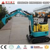 중국 최고 소형 크롤러 굴착기 농장 정원 궤도 판매를 위한 0.8 톤 굴착기