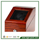 Devanadera del reloj del acabamiento de madera sólida de la alta calidad para la venta