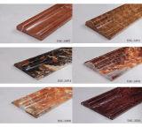 De Marmeren Lijn van de decoratie met de Donkere Kleur van 800*10mm