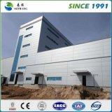 Prix d'atelier d'entrepôt de bureau de construction de structure métallique