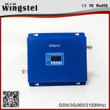 Aumentador de presión fuerte del teléfono móvil de la señal del UMTS 3G GSM/WCDMA 900/2100MHz China