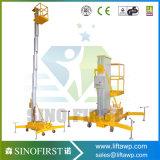 8m Aluminiumlegierung-oben Arbeitsbühne-Aufzug