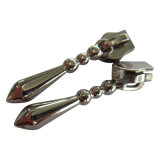 Metallreißverschluss-Abzieher, kundenspezifische Nylonreißverschluss-Züge, Reißverschluss-Schweber für Gepäck