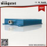 Amplificateur bleu du répéteur 900MHz de signal de la couleur GSM980 de modèle classique à gain élevé