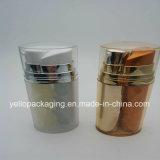 De verguld Kosmetische Fles Zonder lucht van de Fles van de Fles Plastic