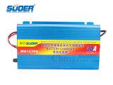 Suoer Неуправляемые Fast зарядное устройство 12V30A Универсальное зарядное устройство с четырьмя фазами режиме зарядки (MA-1230A)