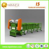 Basura favorable al medio ambiente de la basura del equipo que recicla la maquinaria