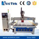 Jinan Acctek Atc CNC Router Akm1530c! Auto máquina de corte de madera