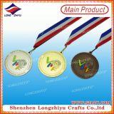 Goldsilberne unbelegte Bronzemedaillen für Verkauf