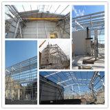 Edificios prefabricados para el almacenaje de la cámara fría, taller de la estructura del metal