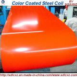 La couleur a enduit la bobine en acier et a enduit la bobine d'une première couche de peinture en acier pour la feuille de toiture