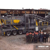 Rock Crusher、Complete Cone Crushing Plantの移動式Complete Plant